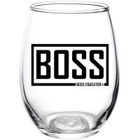 Boss Wine Glass